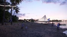 BIG, Hijjas and Ramboll selected as winners of the Penang South Islands Design Competition Central Island, South Island, Penang Island, Mangrove Forest, Water Resources, Island Design, Design Competitions, Urban Life, Small Island