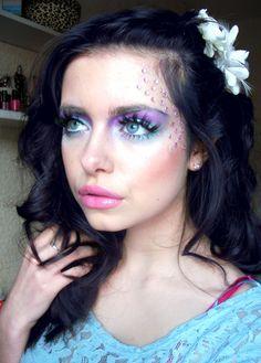 Purple & pink lips
