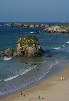 Playa de Peñarronda. Asturias.