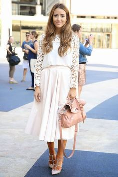OUTFIT COMBINATION: Λευκό με Λευκό. Total Summer White!