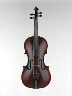 "1757 American (New York) Viola at the Metropolitan Museum of Art, New York - According to the curators, this piece bears the distinction of being ""the oldest extant American violin family instrument."""