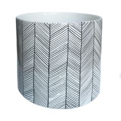 Herringbone Jar