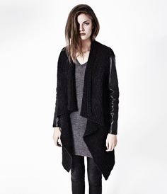 Force Cardigan, Women, Sweaters, AllSaints Spitalfields