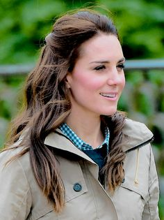 On May 3, 2017, Catherine, Duchess of Cambridge visited the Farms for City Children in Arlingham, Gloucestershire.