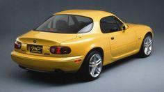 Early NA-series Mazda Miata coupe prototype. Mazda Mx 5, Mazda Miata, Miata Hardtop, Opel Gt, Mazda Roadster, Pontiac Bonneville, Bmw 7 Series, Rx7, Toyota Corolla