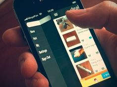 UX/iOS idea with video process  by Cuberto (Dealinapp}    We are developing our a new app and you can see some UX ideas which we have already realized.   http://vimeo.com/41495357   http://vimeo.com/41192912