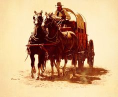 Chuck Wagon By James Bama
