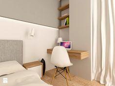 MIESZKANIE NA URSYNOWIE 85 M2 - Średnia sypialnia małżeńska, styl nowoczesny - zdjęcie od design me too