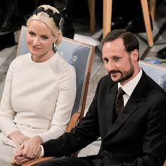 Norway's Haakon and Mette-Marit