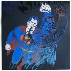 "Andy Warhol ""Superman"""