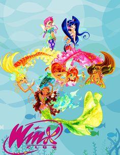 winx mermaid poster