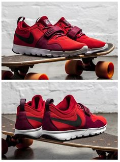 Nike SB Trainerendor  Red Nike Free Runs, Running Shoes Nike, Nike Free  Shoes 358fe30bc911