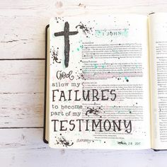 Bible Journaling by @_mimi_creates