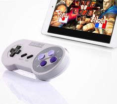 Bluetooth SNES Controller For Playing Your Mobile Games