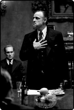 Marlon Brando - Godfather....no need for any other words