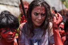 Lorenza Izzo in The Green Inferno