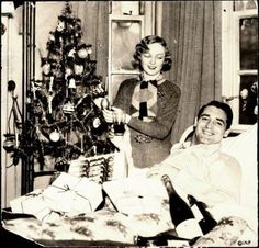 Cary Grant and his first wife, Virginia Cherrill