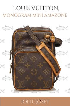 25d1e849792d Keep all your essentials in-handy with the Louis Vuitton Monogram Mini  Amazone