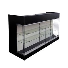 Retail Cash Wrap with Front Showcase - Cash Wrap Counters - Display Cases Subastral