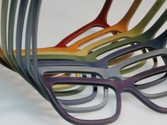 afae1cfca4 W-eye wood glasses by Doriano Mattellone and Matteo Ragni Funky Glasses