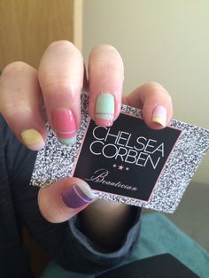 Easter nails that can be worn even after the Easter weekend