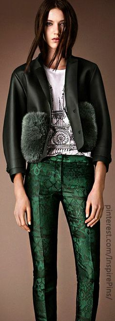 Pre-Fall 2014 Burberry Prorsum Collection