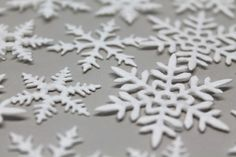 ☆☆☆ DIY Snowflakes made of cotton wool pads: Ingenious crafting idea as a small Christmas decoration with the Sizzix punching machine ☆☆☆ Beautiful Christmas Decorations, Perfect Christmas Gifts, Little Snowflake, Diy Snowflakes, Snow Flakes Diy, Cotton Pads, Christmas Projects, Make Your Own, Stampin Up