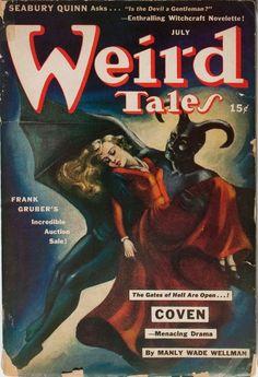 Weird Tales, July 1942