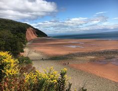 From @a.foradventure  B is for Blomidon Provincial Park.  FUN FACT: When the tide floods into the Bay of Fundy the amount of water is equal to ALL of the rivers in ALL of the world. And it happens twice a day!  #visitnovascotia #learning #bayoffundy