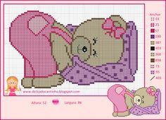 Boy teddy bear x-stitch Cross Stitch For Kids, Cross Stitch Borders, Cross Stitch Baby, Cross Stitch Animals, Cross Stitch Charts, Cross Stitching, Cross Stitch Embroidery, Cross Stitch Patterns, Cross Stitch Geometric