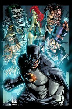 Batman and Co. by Marcio Abreu *
