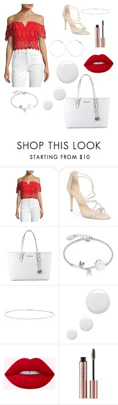 """."" by fionabrown1 ❤ liked on Polyvore featuring Yumi Kim, Schutz, MICHAEL Michael Kors, Disney, Suzanne Kalan and Topshop"