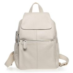 ZENCY Backpack Natural Soft Real Leather Backpacks Genuine First Layer Cow Leather Top Layer Cowhide Women Backpack School Bags Colorful Backpacks, Grey Backpacks, Leather Backpacks, Cow Leather, Real Leather, Leather Bag, Backpack Bags, Fashion Backpack, Cowhide Bag