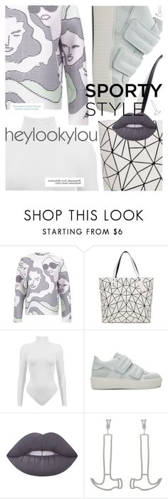 """""""Futuristic Cool featuring HEYLOOKYLOU.com"""" by cultofsharon ❤ liked on Polyvore featuring Opening Ceremony, Bao Bao by Issey Miyake, LOOKY, MM6 Maison Margiela and Art School"""