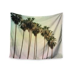 """Found it at Wayfair - """"Palm Trees"""" by Sylvia Coomes Wall Tapestry"""