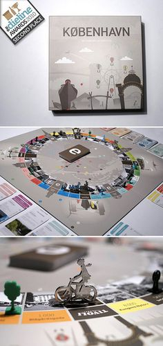"""Hello Monday has designed Copenhagen's new board game that draws inspiration…"