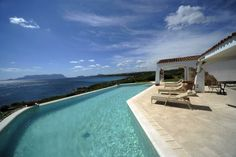 Outstanding seafront villa in Sardinia