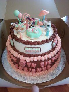 Littlest Pet Shop Party — Children's Birthday Cakes