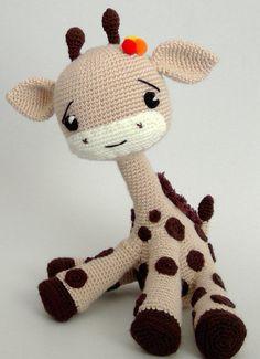 Giraffeel Toy - PDF PATTERN by IremDesign on Etsy