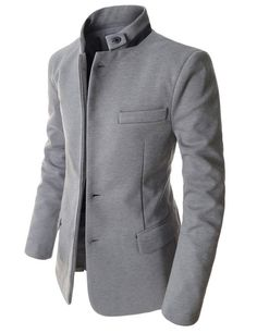 What to choose to operate without the need for perspire to bits using your trip. Mens Fashion Suits, Mens Suits, Mode Outfits, Fashion Outfits, Mode Man, Chinese Collar, Designer Suits For Men, Men Style Tips, Blazers For Men