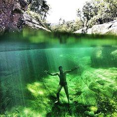 Iúna, terras de águas cristalinas da cor de esmeraldas