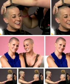 American Idol alum Kellie Pickler shaved her head in support of friend, Summer Miller, who was diagnosed with breast cancer in June