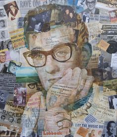 Saatchi Online Artist Anthony Brown; Painting, Not Fade Away Portrait Of Buddy Holly #art