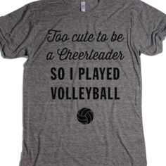 Shop Cute Volleyball Shirts on Wanelo