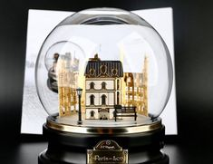 Paris Love, Snow Globes, Decor, Decoration, Decorating, Deco
