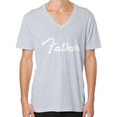 Father V-Neck (on man) Shirt