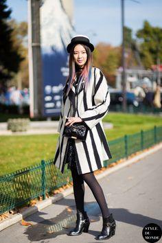 Irene Kim Street Style Street Fashion Streetsnaps by STYLEDUMONDE Street Style Fashion Blog