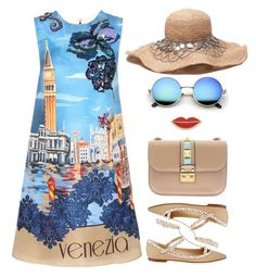 Ti amo 💙 by razone on Polyvore featuring Dolce&Gabbana, Valentino and Georgia Perry