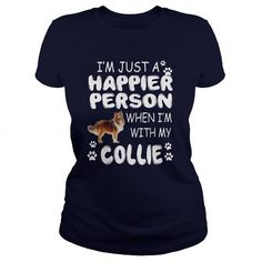 I Love Collie T shirts