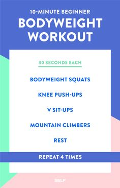 Short Workouts You Can Do At Home